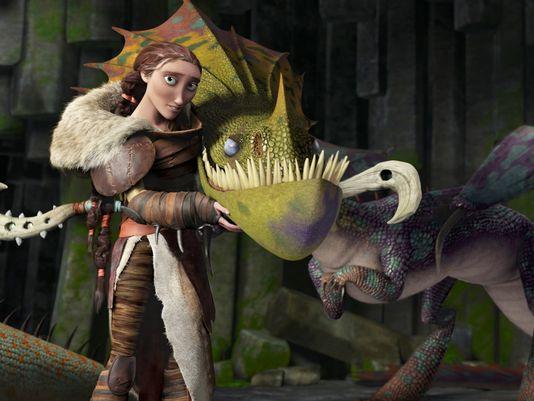 valka como entrenar a tu dragon 2 cate blanchette