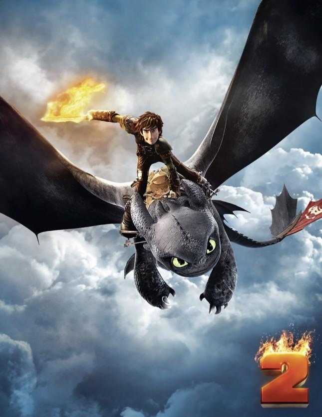 como entrenar a tu dragon 2 poster hi res
