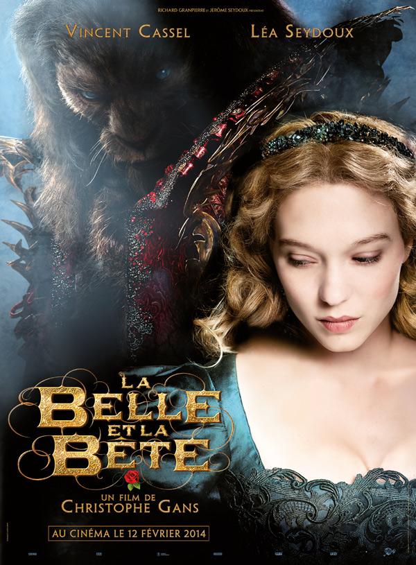 la bella y la bestia lea seydoux poster vincent cassel