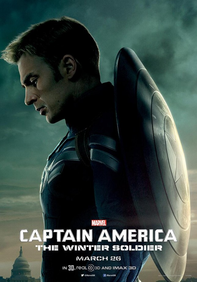 steve rogers poster capitan america soldado del invierno