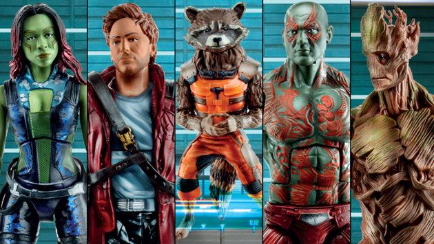 guardianes de la galaxia juguetes