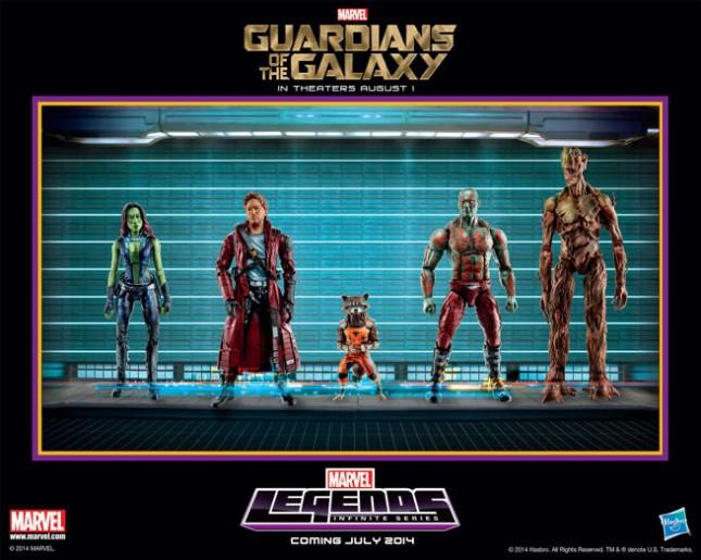 juguetes de guardianes de la galaxia