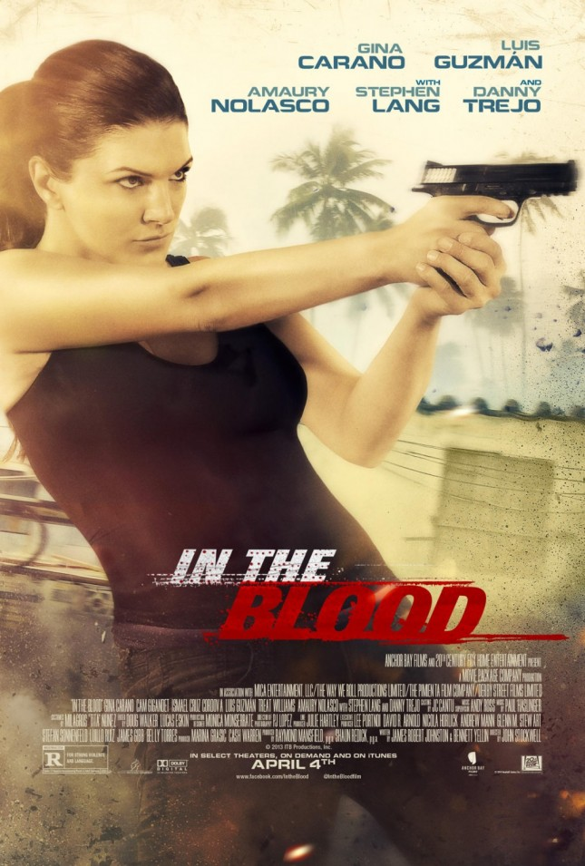 gina carano poster in the blood