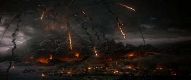 pompeya volcan vesuvio explotando