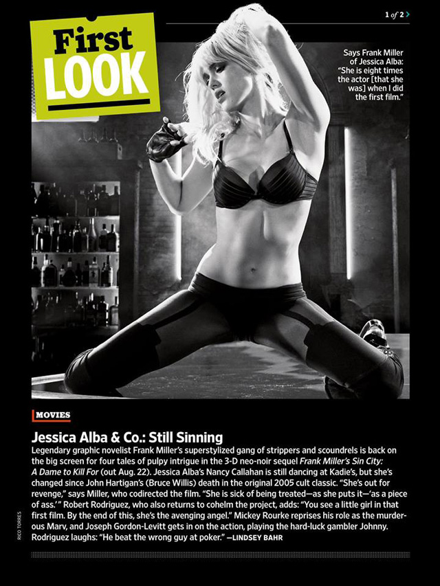 jessica alba sin city 2 a dame to kill for
