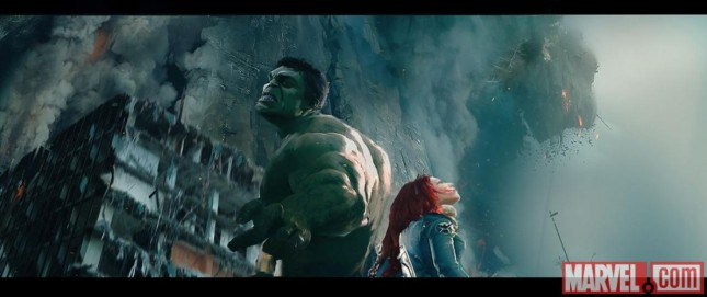 age of ultron arte conceptual hulk black widow