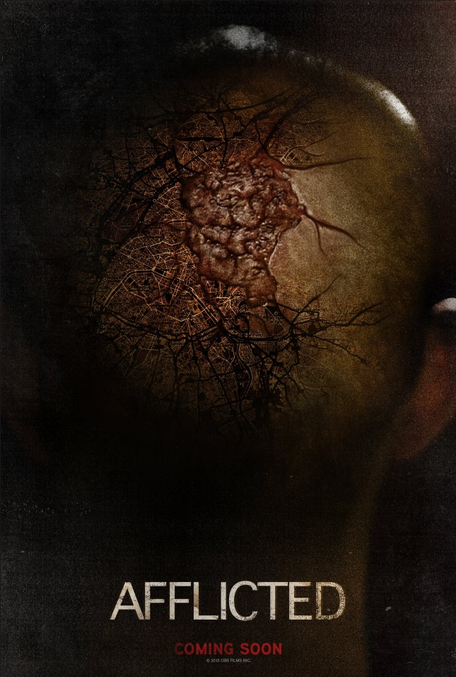 poster afflicted pelicula