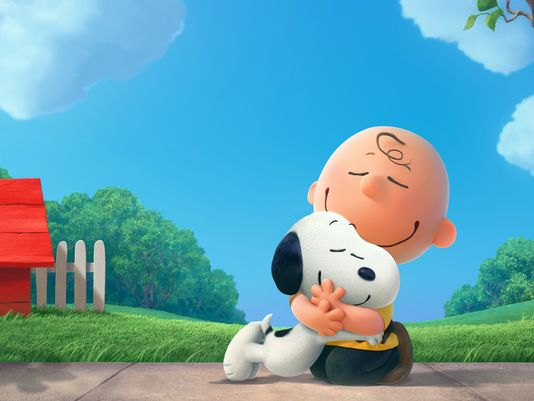 peanuts charly brown snoopy cgi 2015