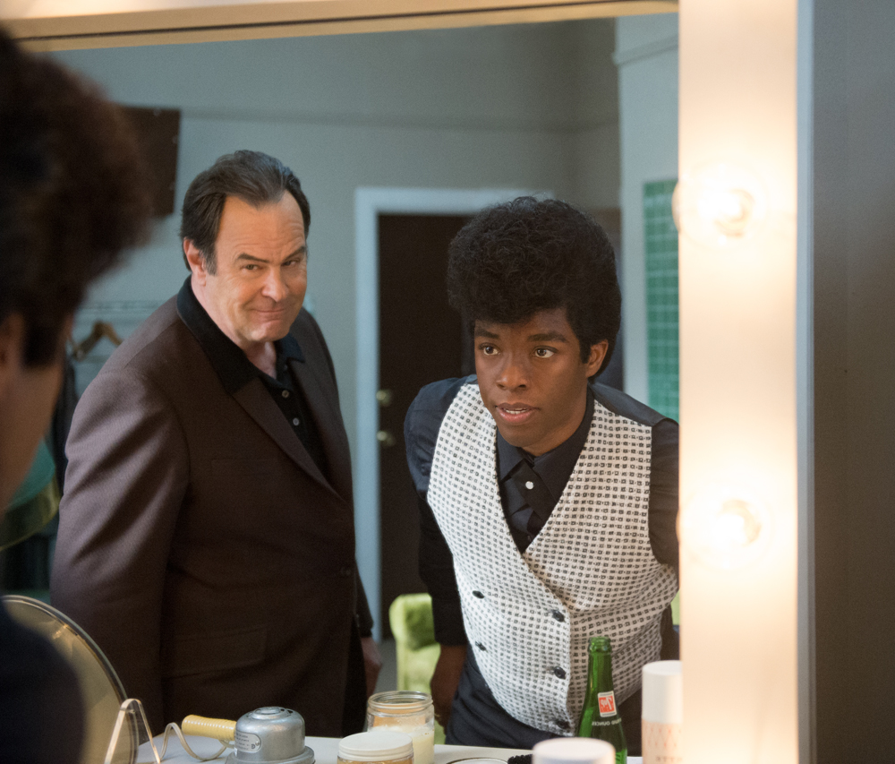 chadwick boseman dan aykroyd get on up