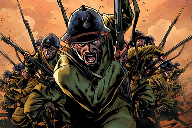 harlem hellfighters arte max brooks