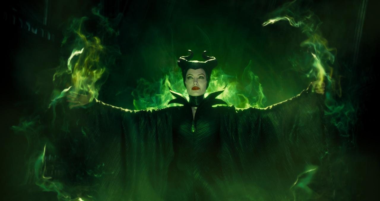 angelina jolie verde malefica