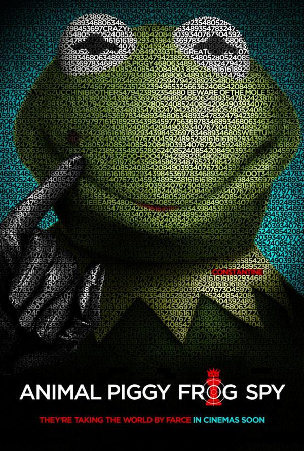 muppets mas buscados poster espia que sabia demasiado