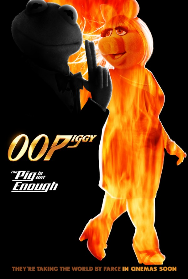 muppets mas buscados poster el mundo no basta