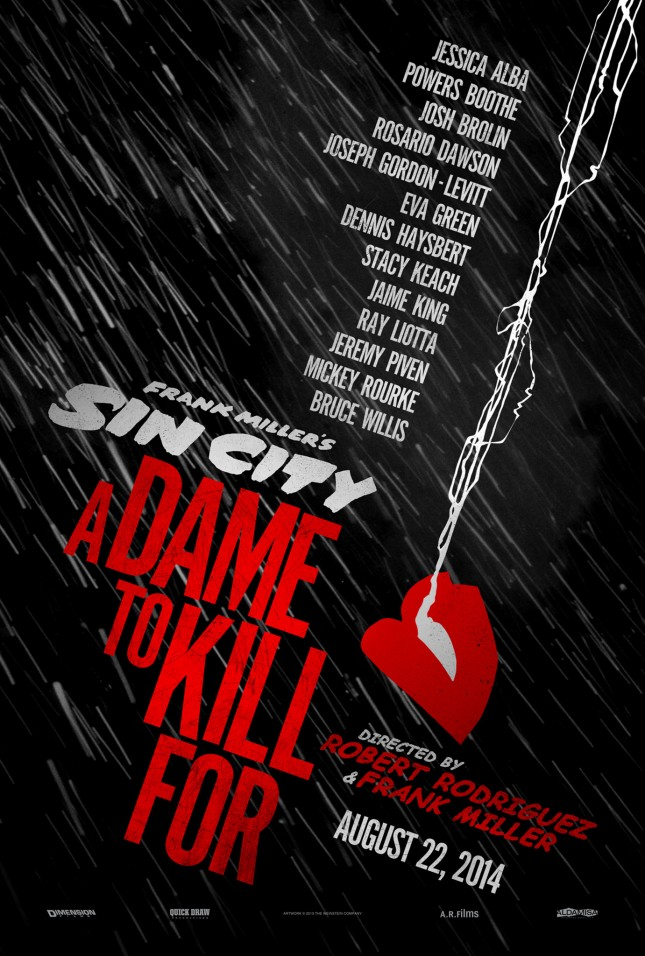 poster Sin City A Dame to Kill For