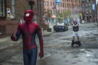 sorprendente hombre araña 2 amenaza de electro paul giamatti atrapado