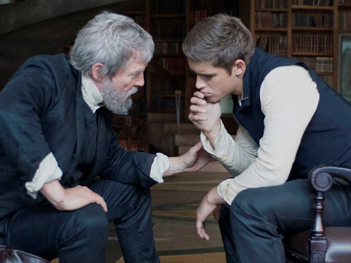 the giver jeff bridges Brenton Thwaites