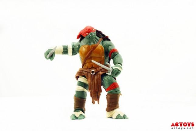 juguete tortugas ninja rafael