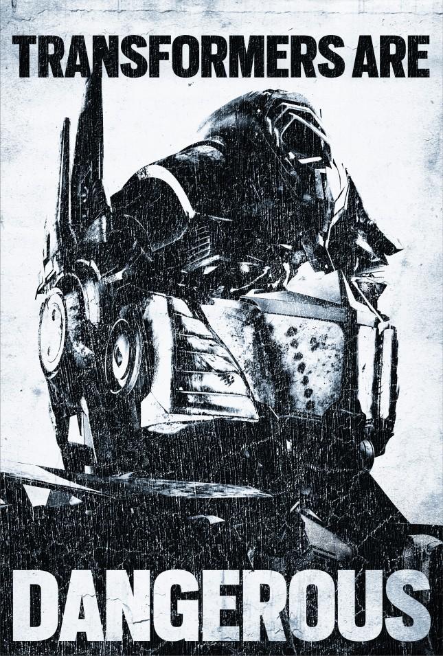 optimus prime poster transformers 4