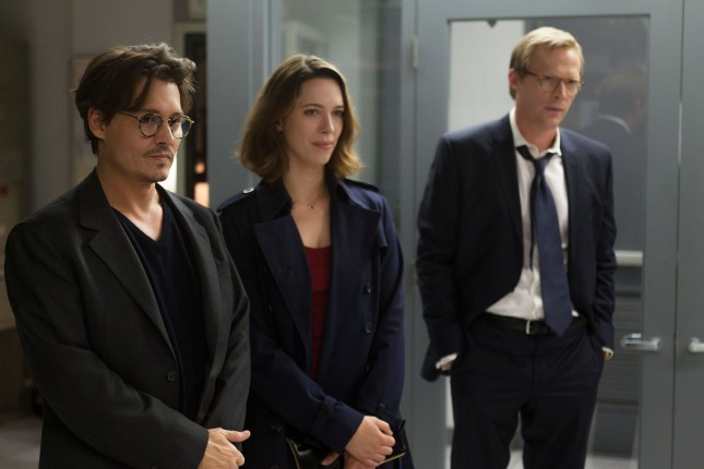johnny depp trascendencia rebecca hall paul bettany