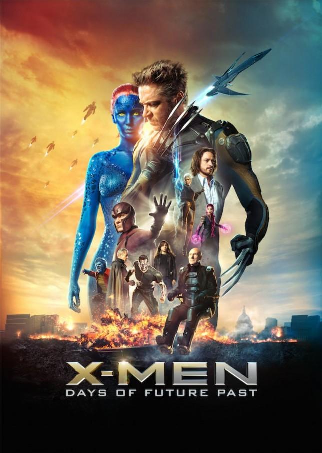 X-Men: Días del Futuro Pasado poster