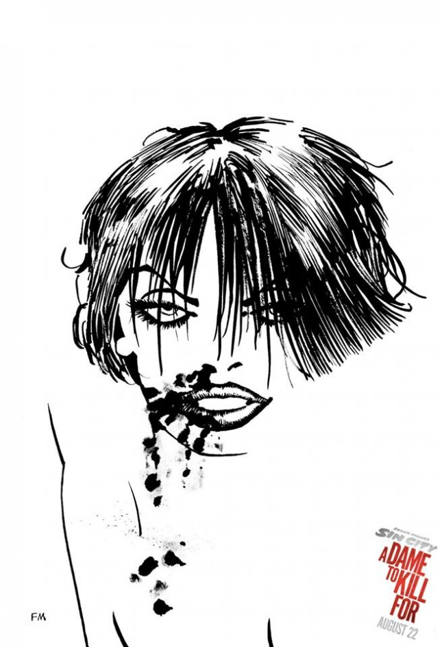 sin city 2 a dame to kill for storyboards