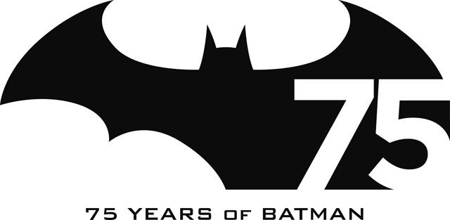 batman 75 años logo