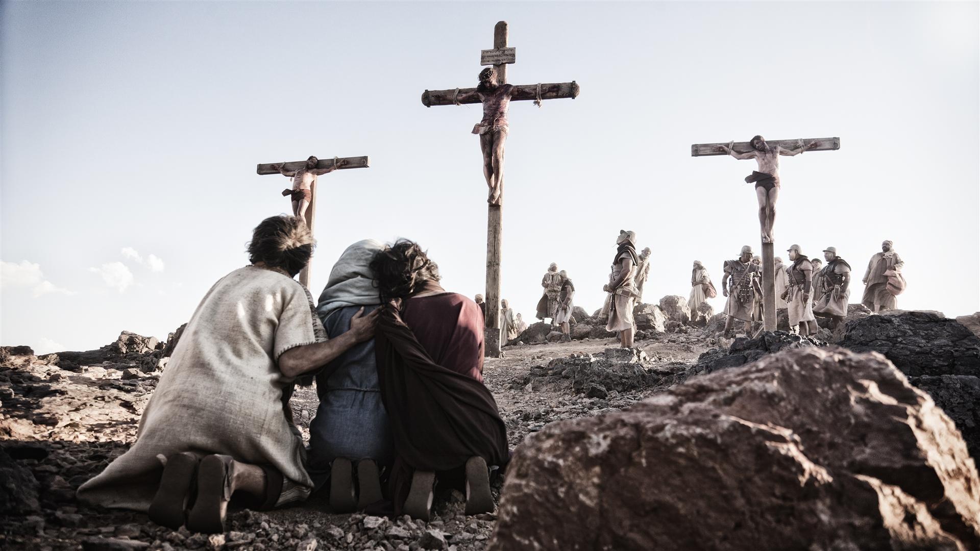 hijo de dios crucifixion wallpaper