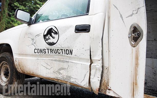 Jurassic World construccion