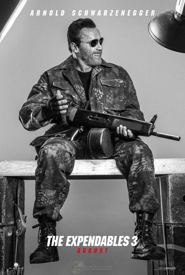 Los Indestructibles 3: Arnold Schwarzenegger