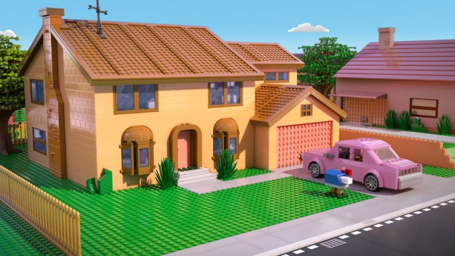 simpsons capitulo lego