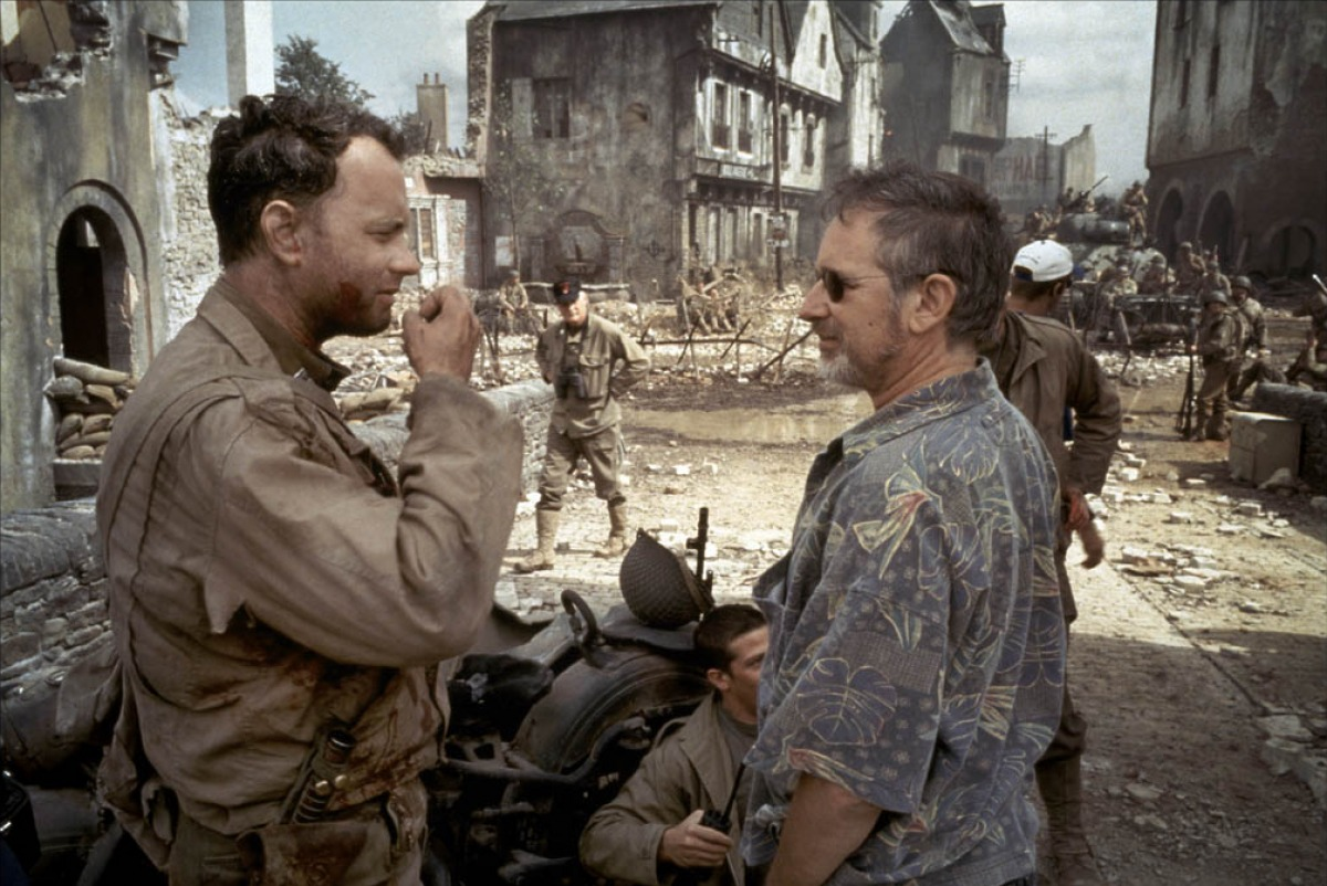 tom hanks steven spielberg soldado ryan