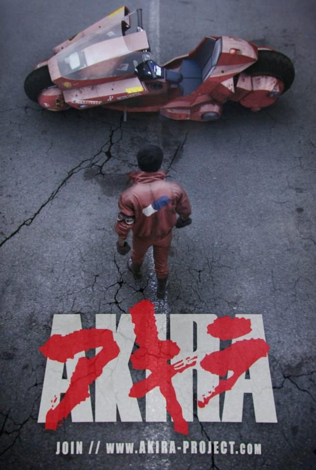 akira project poster