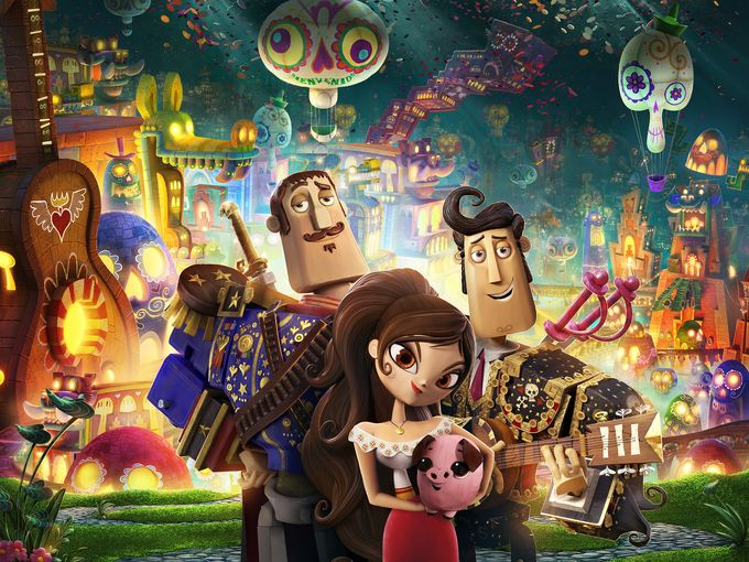 the book of life guillermo del toro