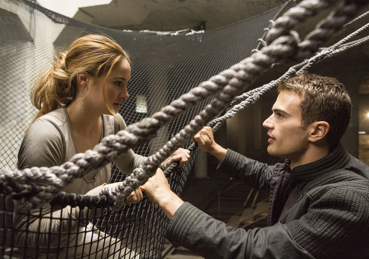 shailene woodley theo james divergente