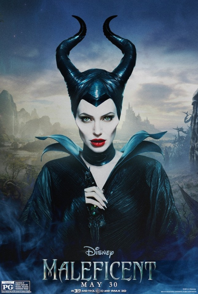 malefica angelina jolie poster