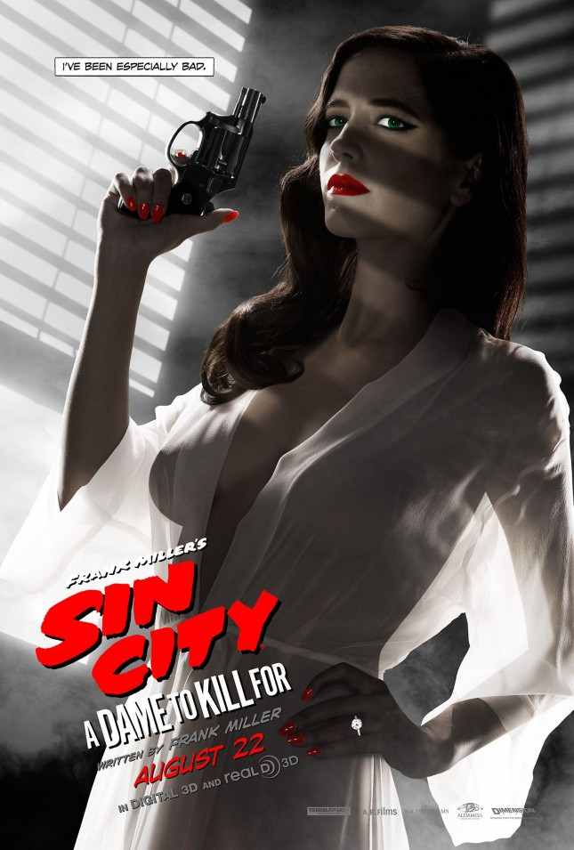 eva green censored poster sin city 2 a dame to kill for