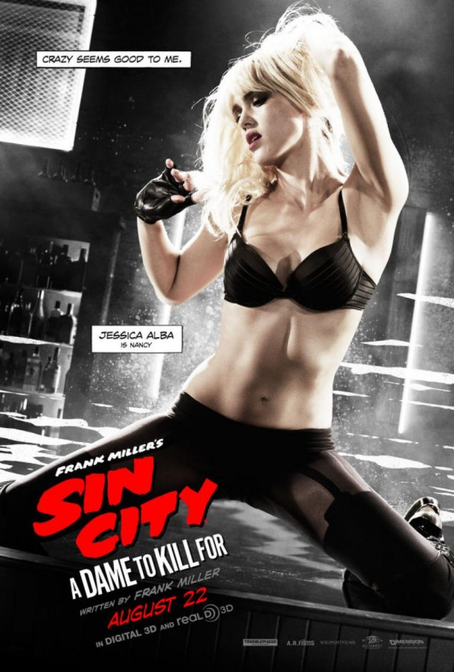 jessica alba sin city 2 a dame to kill for poster