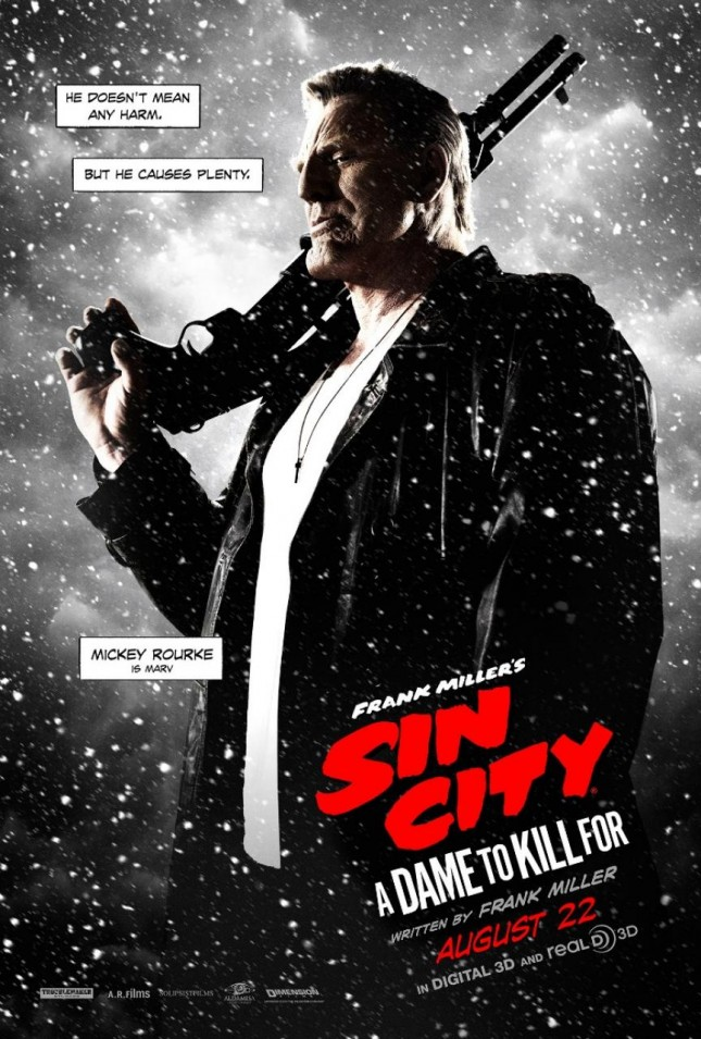 mickey rourke sin city 2 a dame to kill for