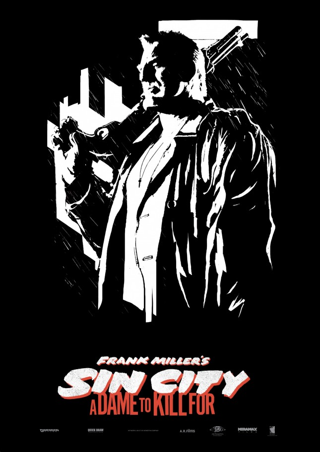 sin city marv a dame to kill for mickey rourke poster