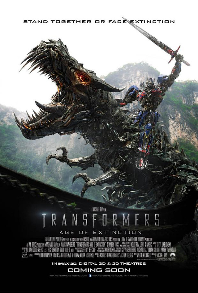 imax transformers era de la extincion