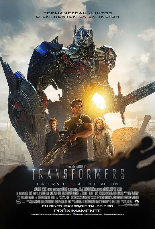 poster transformers era de la extincion