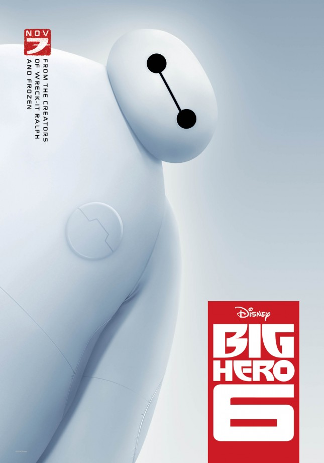 baymax big hero 6 poster