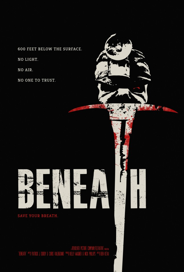 poster beneath pelicula