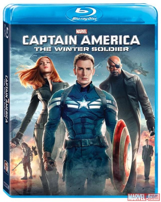 El Capitán América y el Soldado del Invierno blu ray