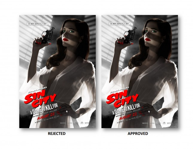 comparacion eva green sin city 2