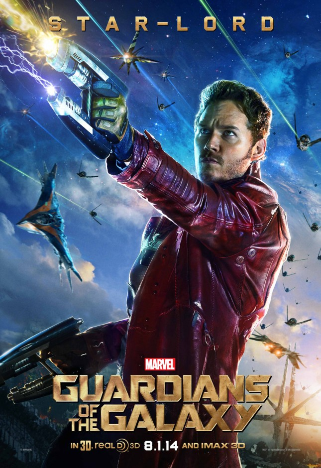 star lord guardianes de la galaxia poster