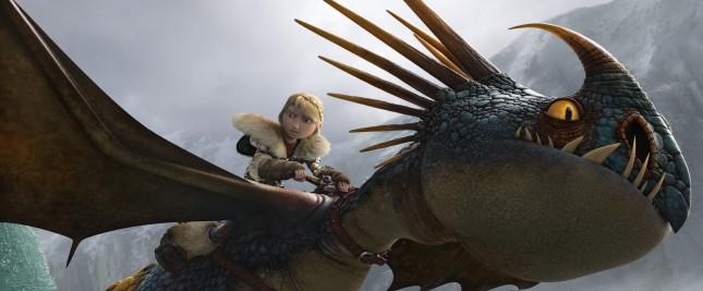astrid como entrenar a tu dragon 2