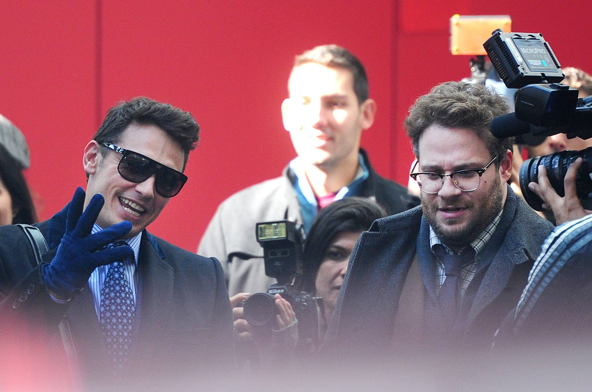 the interview seth rogen james franco movie