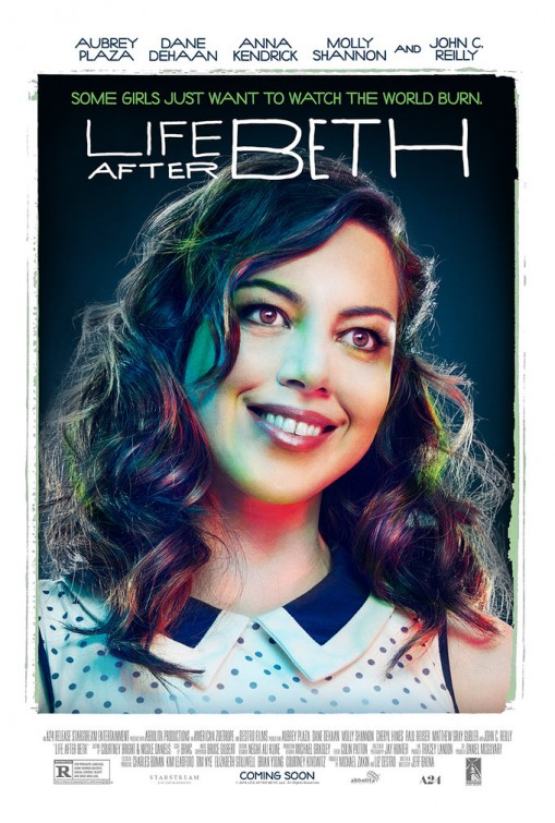 aubrey plaza poster life after beth