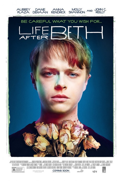 dane dehaan poster life after beth